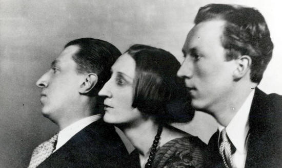 Osbert, Edith and Sacheverell Sitwell