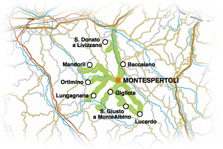 Montespertoli wine route